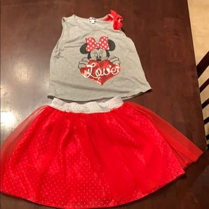 Other - Minnie mouse 2 pc outfit - super cute!
